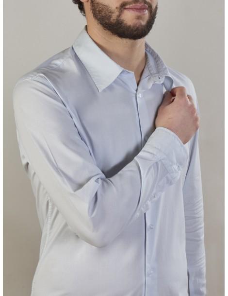 Camiceria Stefanelli - Camicia uomo cotone 100%, tinto in capo
