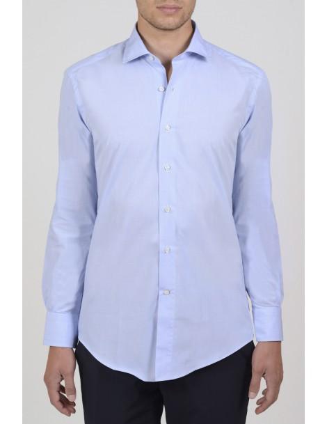Camicie da Uomo - Camicia uomo cotone 100%, cotone fil-a-fil